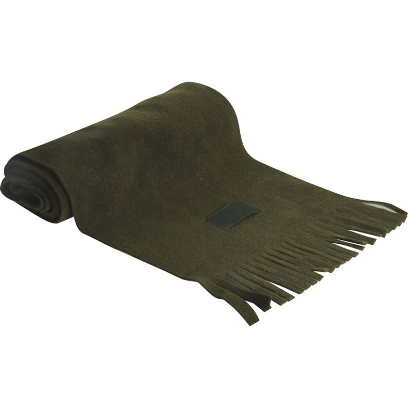 SYNTHETIC FLEECE SCARF WITH NYLON TAG