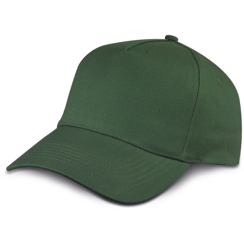 COTTON 5 PANELS GOLF CAP