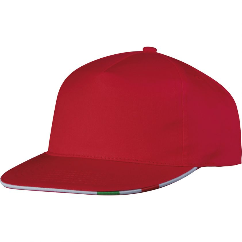 5 PANELS RAPPER SANDWICH CAP