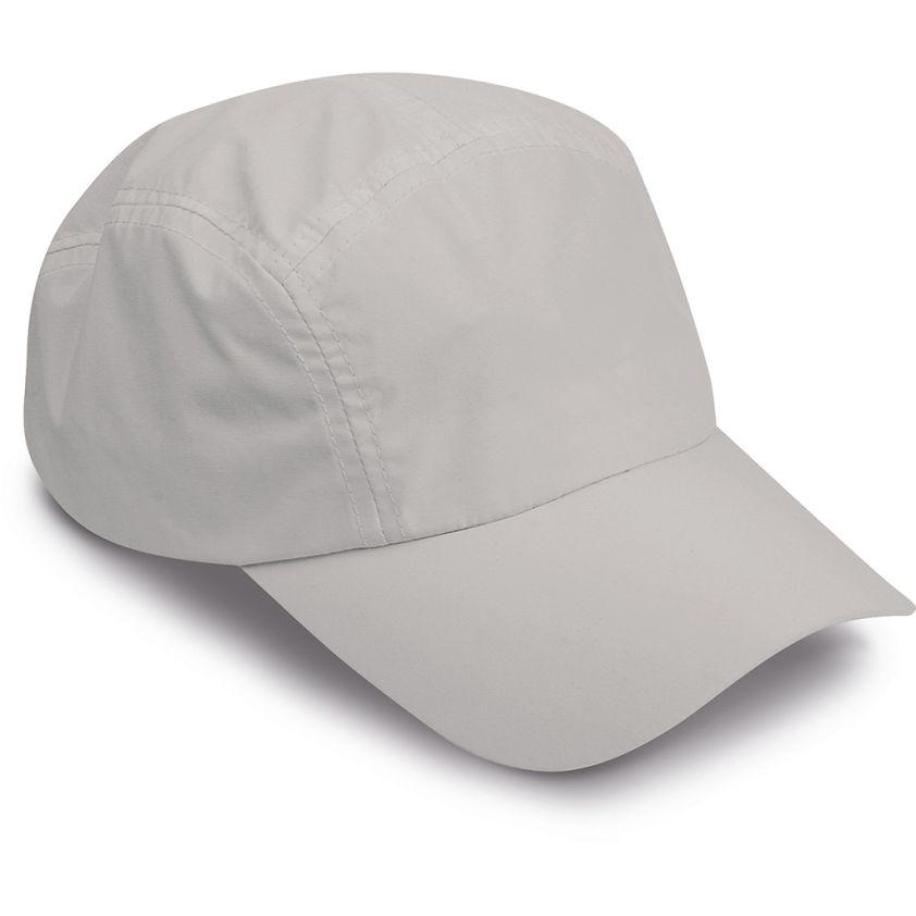 5 PANELS MICROFIBRE CAP