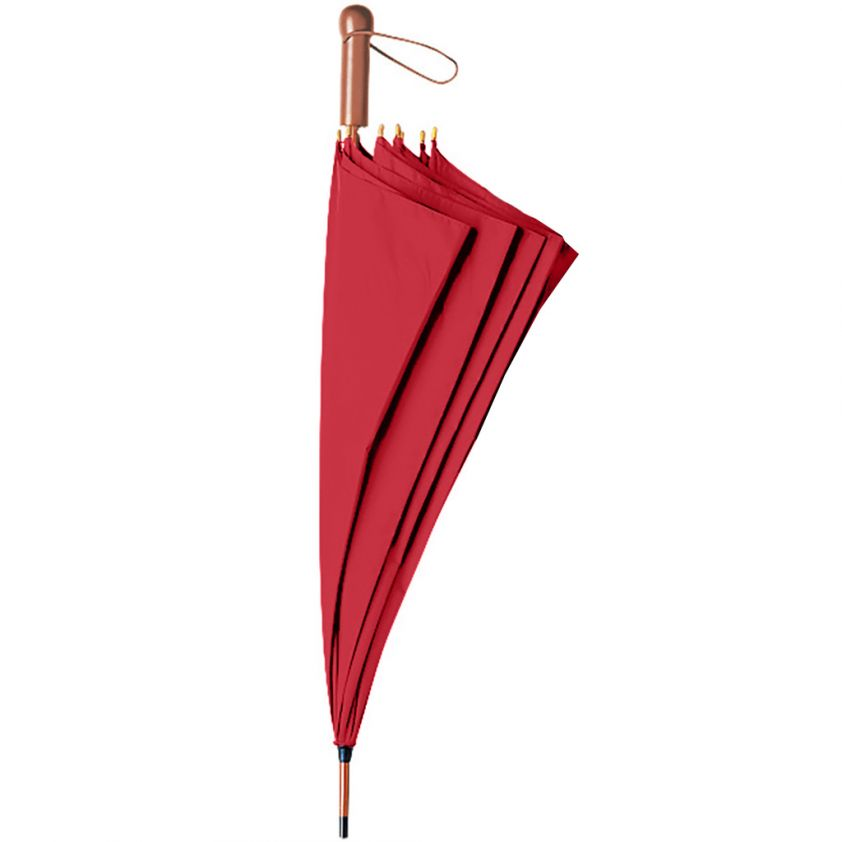 AUTOMATIC WOODEN UMBRELLA 27""