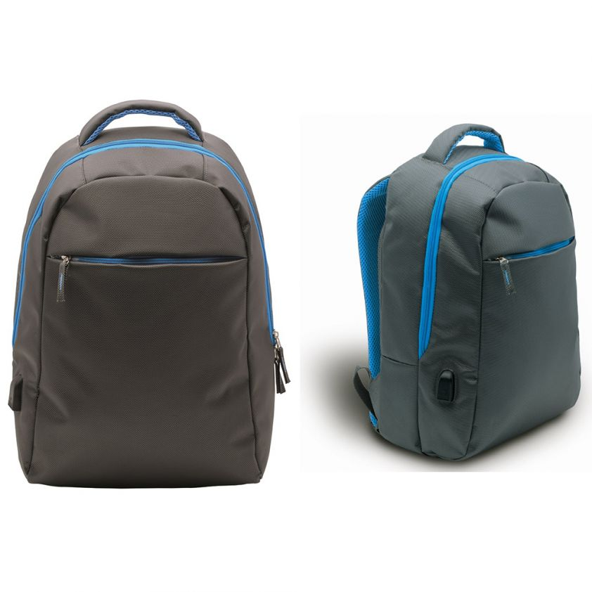 LAPTOP RUCKSACK WITH USB CHARGE PORT