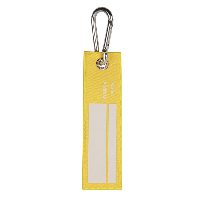 POLYESTER LUGGAGE TAG