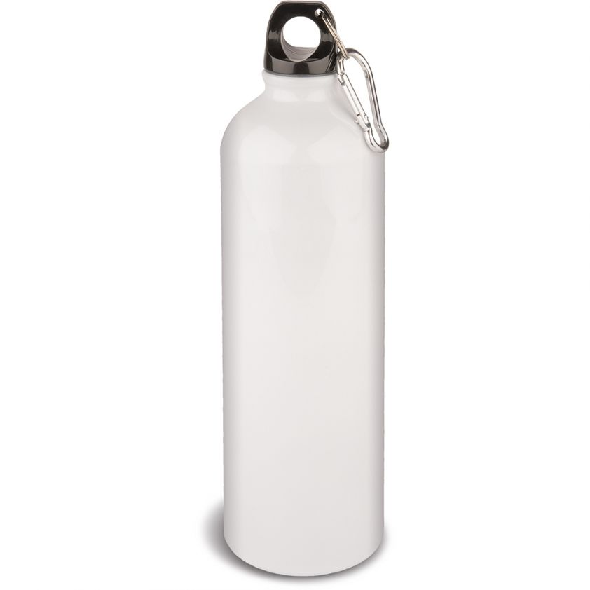 750 ML ALUMINIUM WHITE WATER-BOTTLE