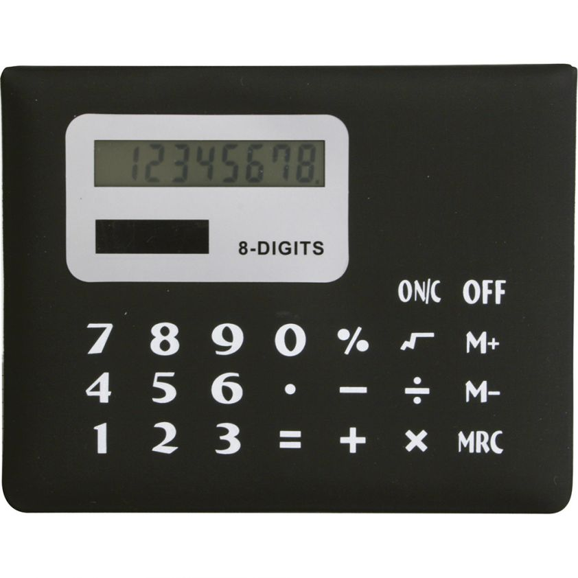 SET OF BOOKMARKS WITH 8 DIGITS CALCULATOR