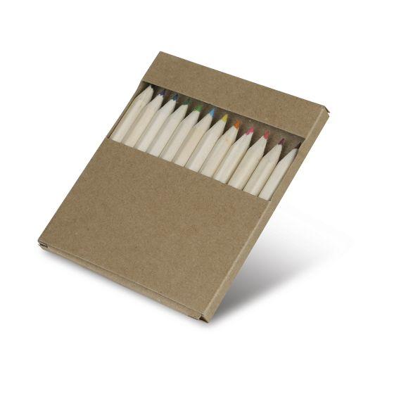 BOX OF COLOURFUL PENCILS